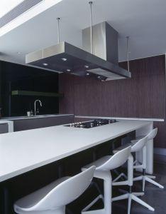 Interior design by minosa open plan integrated living corian benchtops also rh pinterest