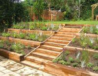 This terraced garden, designed by Julian Tatlock Garden ...