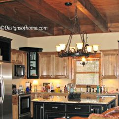 Rustic Black Kitchen Cabinets Lemon Rug Painted At The Cabin Leave A Reply