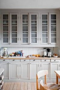 Always Classy: Warm Light Gray Cabinets