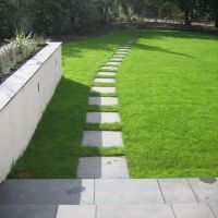 flagstone paths and walkways in grass | Flagstone path ...