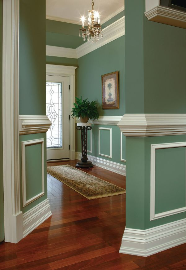 Rooms with Chair Rail Molding