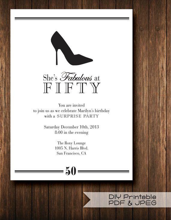 Custom Printed Sweet 16 Invitations