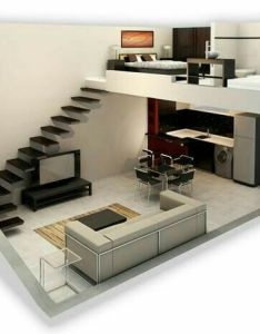 Pacific  small house attafallshus designed by ng architects for compact living nordic also higher top floor to make loft in bedroom mini espacos pinterest rh
