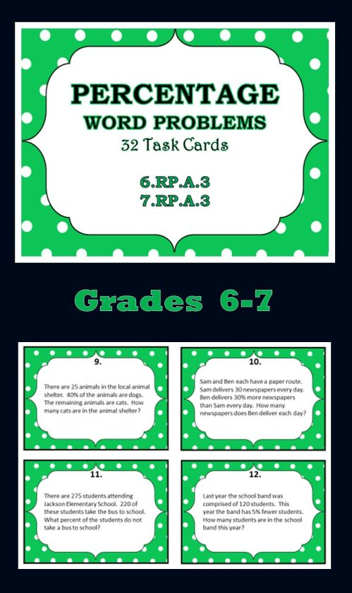 small resolution of Word Problems For 6th Graders