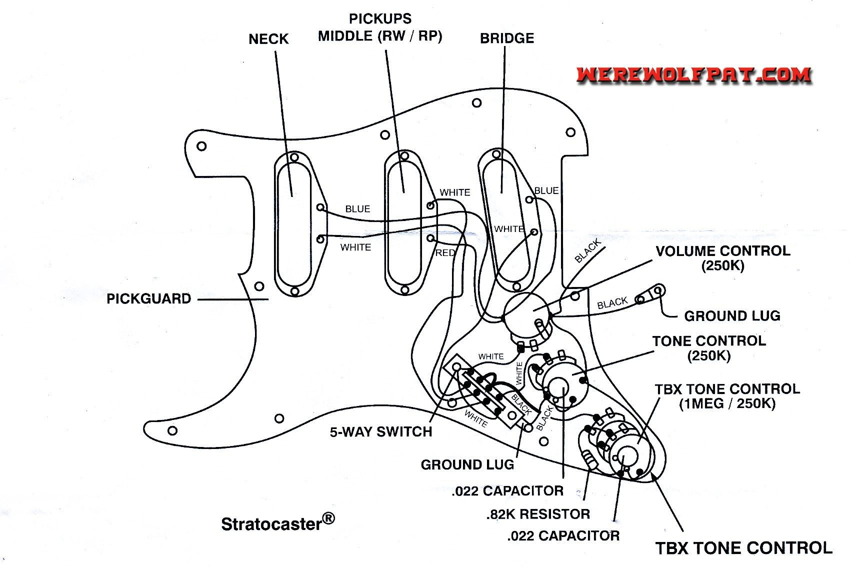 60s strat wiring diagram