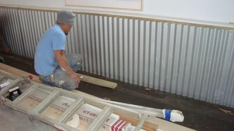 Galvanized Metal Walls Trim