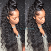 black curly sew in hairstyles