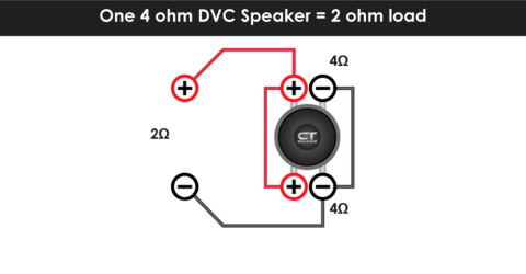 Single 2 Ohm Dvc Wiring Diagram Single Subwoofer Wiring 4