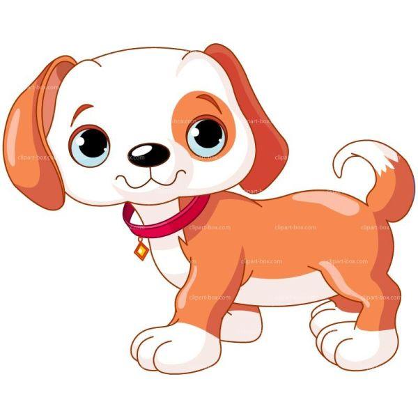 Clipart Doggy - Cartoon Style Royalty Free Vector Design