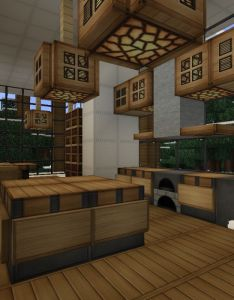 Minecraft kitchen ideas design also home idea pinterest rh