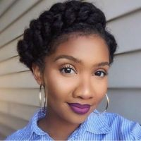 Timeless; The Crown Braid - Black Hair Information ...
