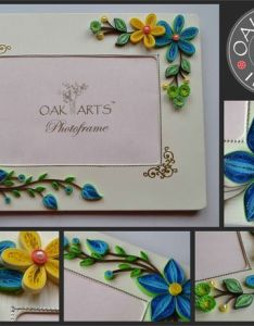 More ideas for quilled photo frames enhance your exquisite quilling with boarder corner stickers available in india by oak arts photoframe is also pin naagini chaitanya on lovers pinterest rh