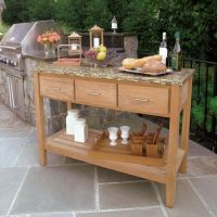 Teak Outdoor Buffet - Berwick Outdoor Buffet Tables and ...