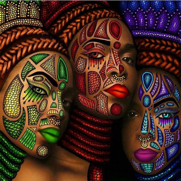 Beautiful African American Art