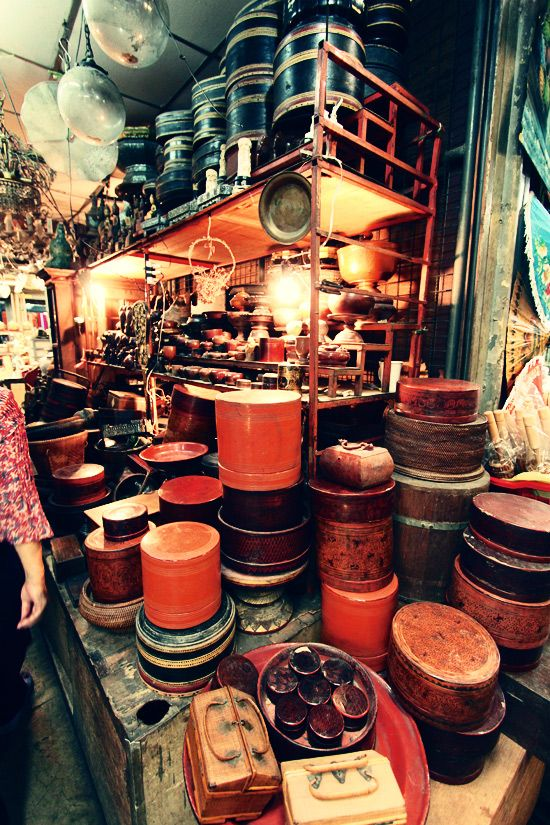 Potteries At Chatuchak Weekend Market #Bangkok Chatuchak Weekend