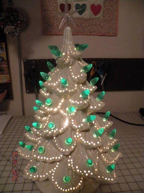 White Christmas Tree Led Lights