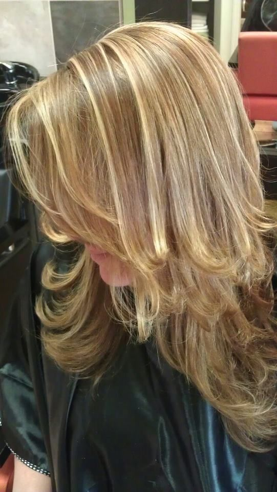 Two Toned Blonde Highlights MY WORK Pinterest