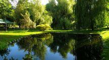 Botanical Garden Oslo Norway. Tyen Manor House
