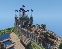 Minecraft Fantasy Castle Veterancraft Likes #