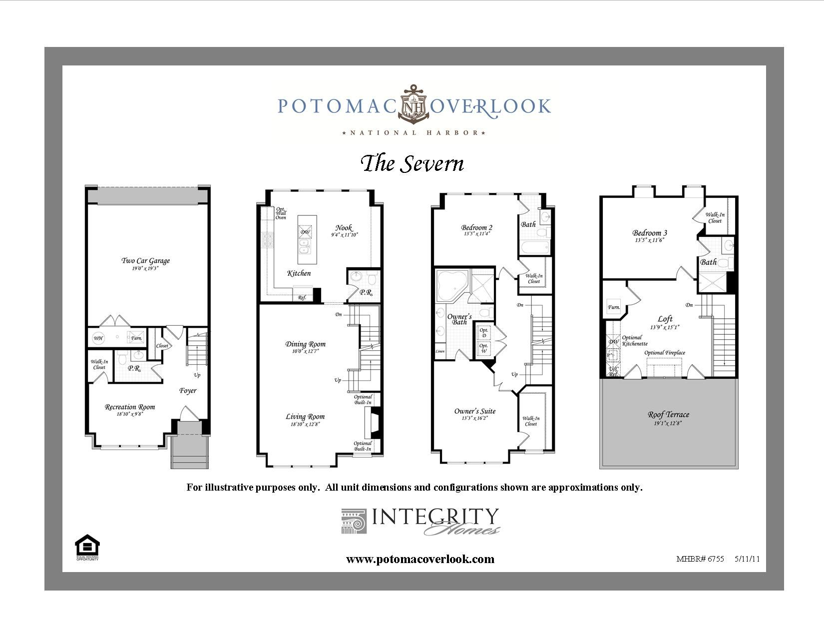 The Severn Floor Plan! Available NOW- Integrity Homes