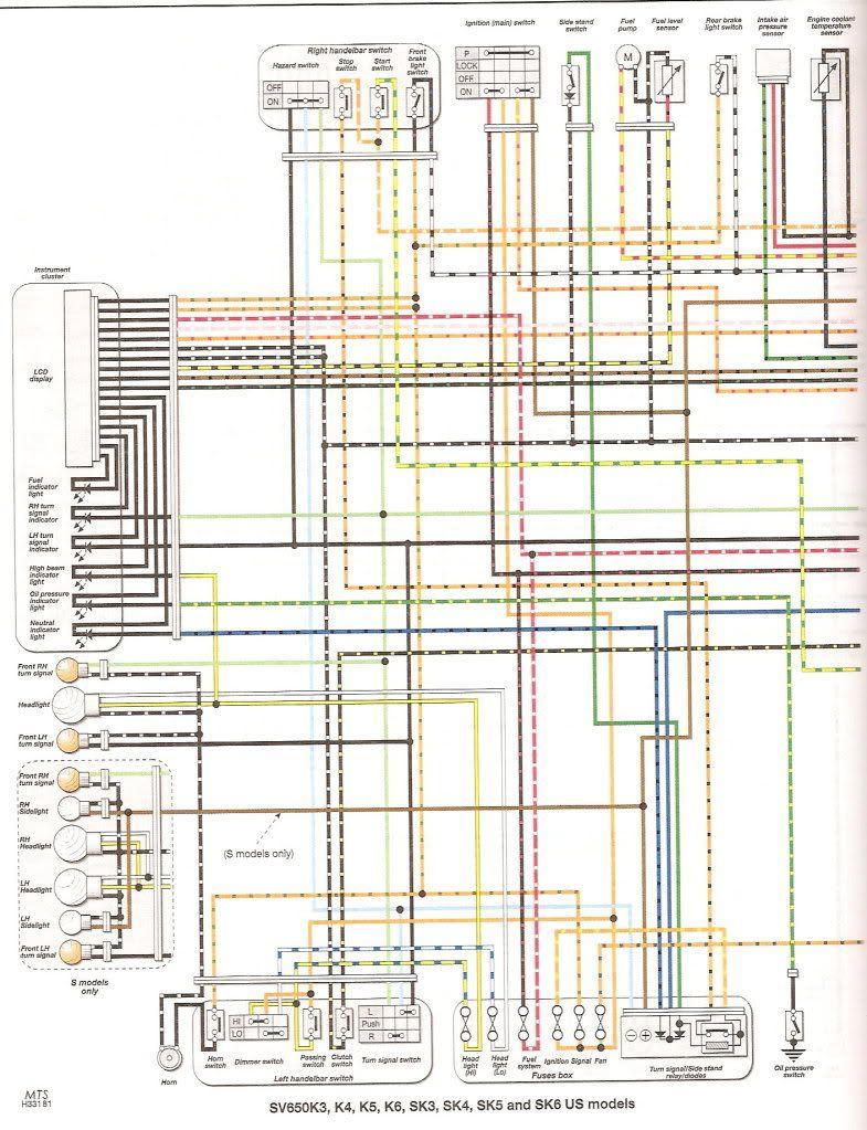 9dfa3d6058715fb26c28101a4aec3bf5 sv650 wiring diagram wiring diagram suzuki sv650 at nearapp.co