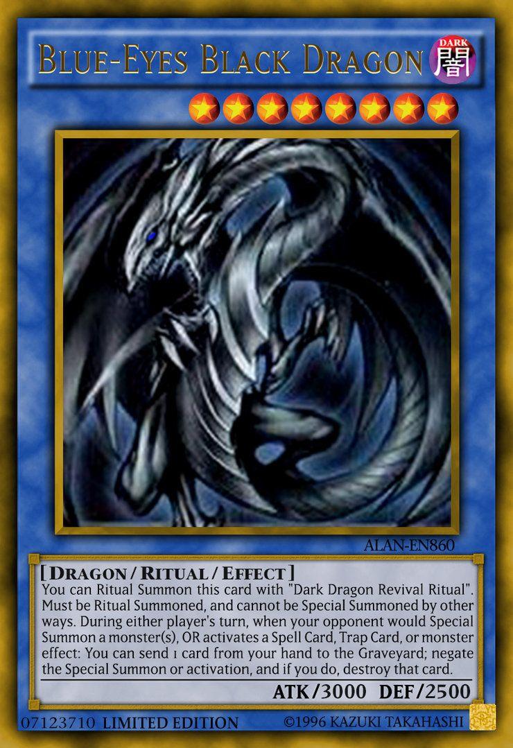 Blueeyes black dragon by alanmac95 on deviantart yugi