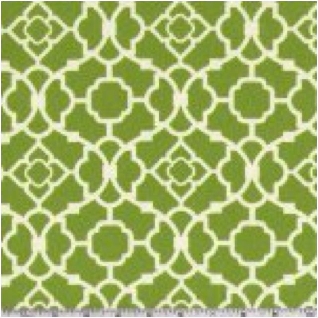 """Waverly """"Lovely Lattice"""" Curtain In Olive Green 24 Lowes"""