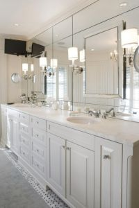 Bathroom Ideas, Modern Bathroom Wall Sconces With Large