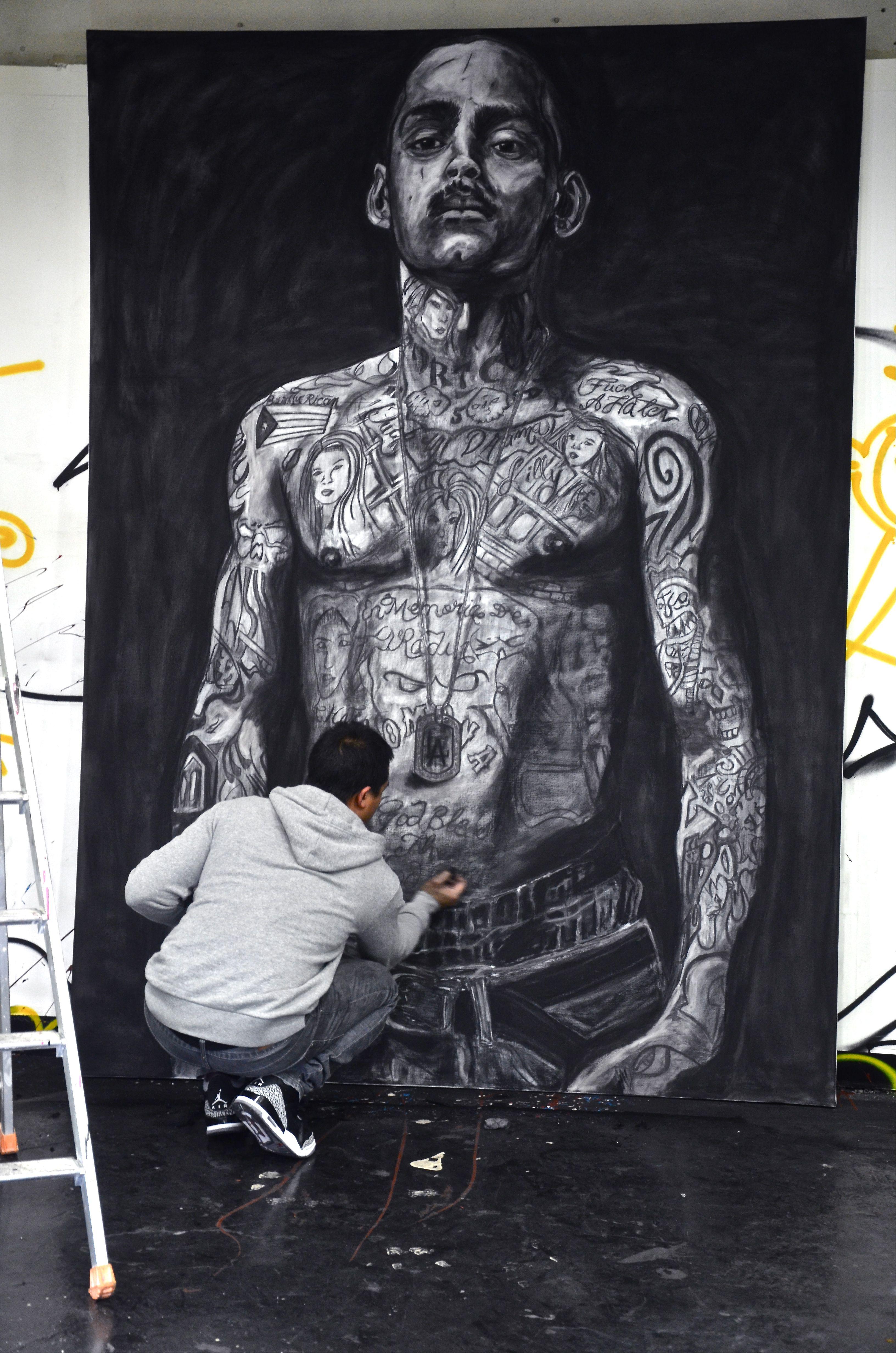 Traditional Tattoos Barber Art