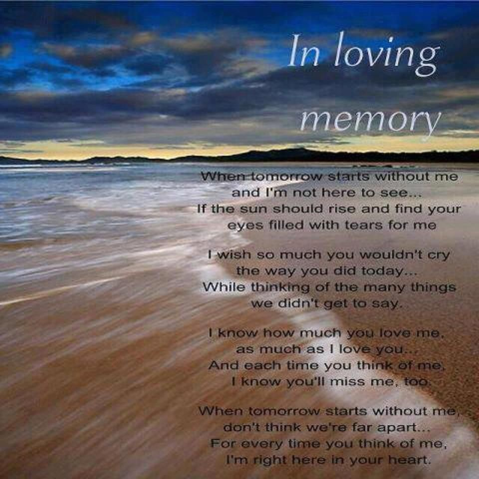 Loving Memory My Son Quotes
