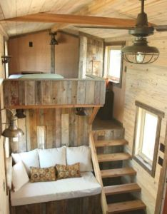 tiny house bus living design and decorating ideas houses cabin also rh pinterest