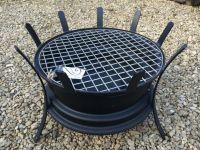 Recycled Car Wheel BBQ / Fire Pit | DIY | Pinterest | Car ...