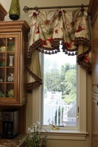 Home Design and Decor , Decorative Kitchen Valances