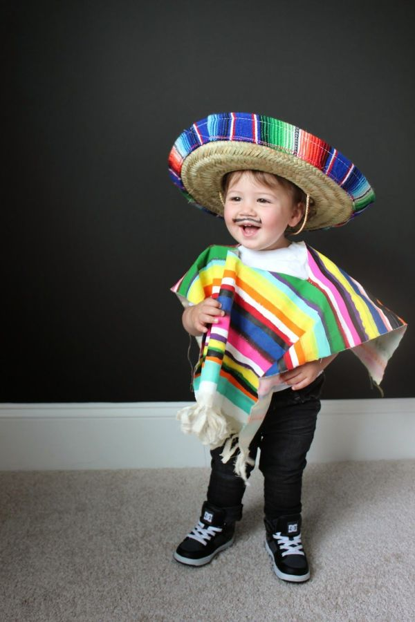 Diy Costume Littles Mexican Serape End Of Year