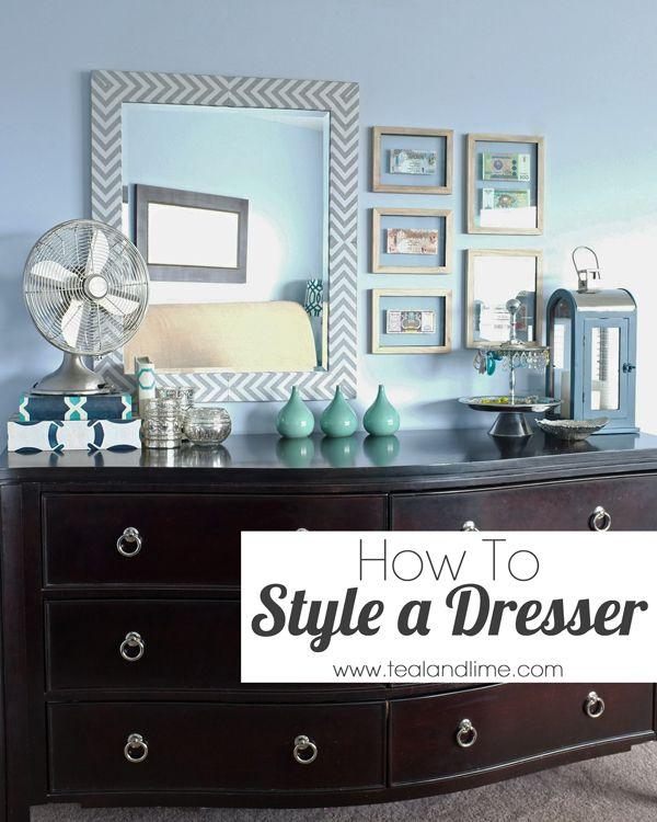 Dresser Styling on Pinterest  Bedroom Dresser Styling Bedroom Dresser Decorating and Painting