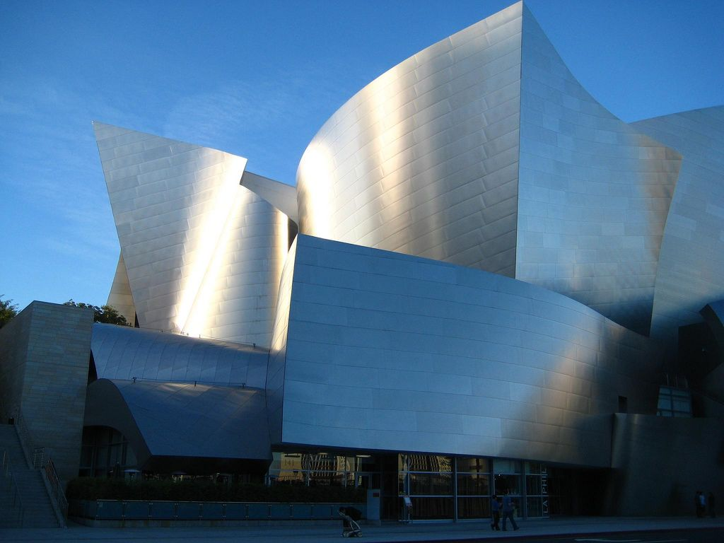 Famous Modern Architecture Steel Buildings California