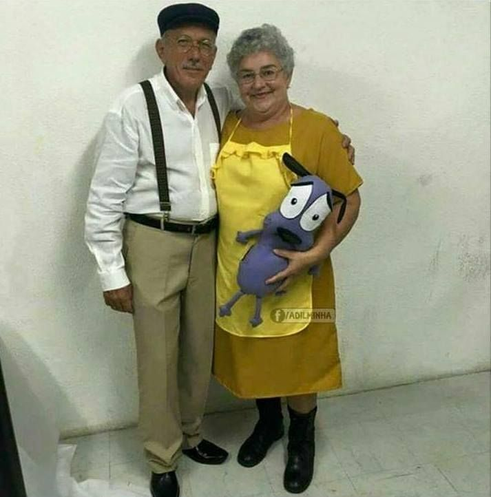 Muriel and Eustis, courage the cowardly dog