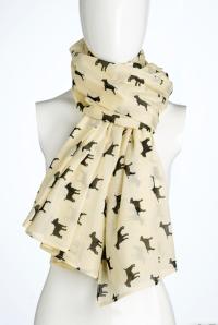Bull Terrier Silhouette Scarf | Bull Terriers | Pinterest ...