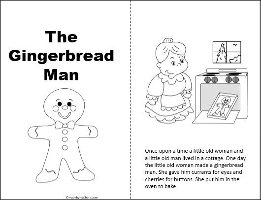 This is a free Gingerbread Man story that can be copied