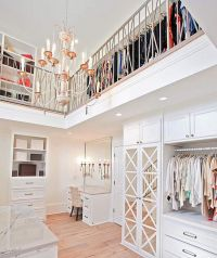 2 story closet? Yes, please. This is insanity, and so ...