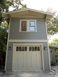 Two-Story One-Car Garage Apartment | Historic Shed ...