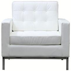Modern White Chair Herman Miller Repair Bateman Leather Armchair Sofas