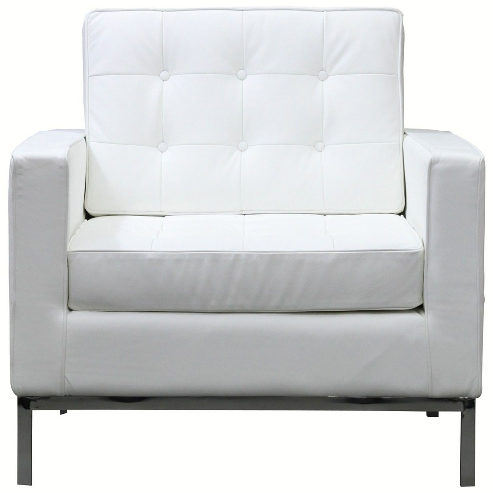 Modern White Chair Bateman Leather Armchair White Leather Sofas Leather