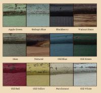 beautiful rustic paint colors to choose from... Rustic ...