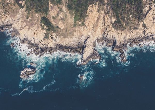Free Image on Pixabay Aerial View Cliff Aerial Sea