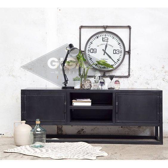 elegant tv meubel urban zwart nu te koop bij giga meubel