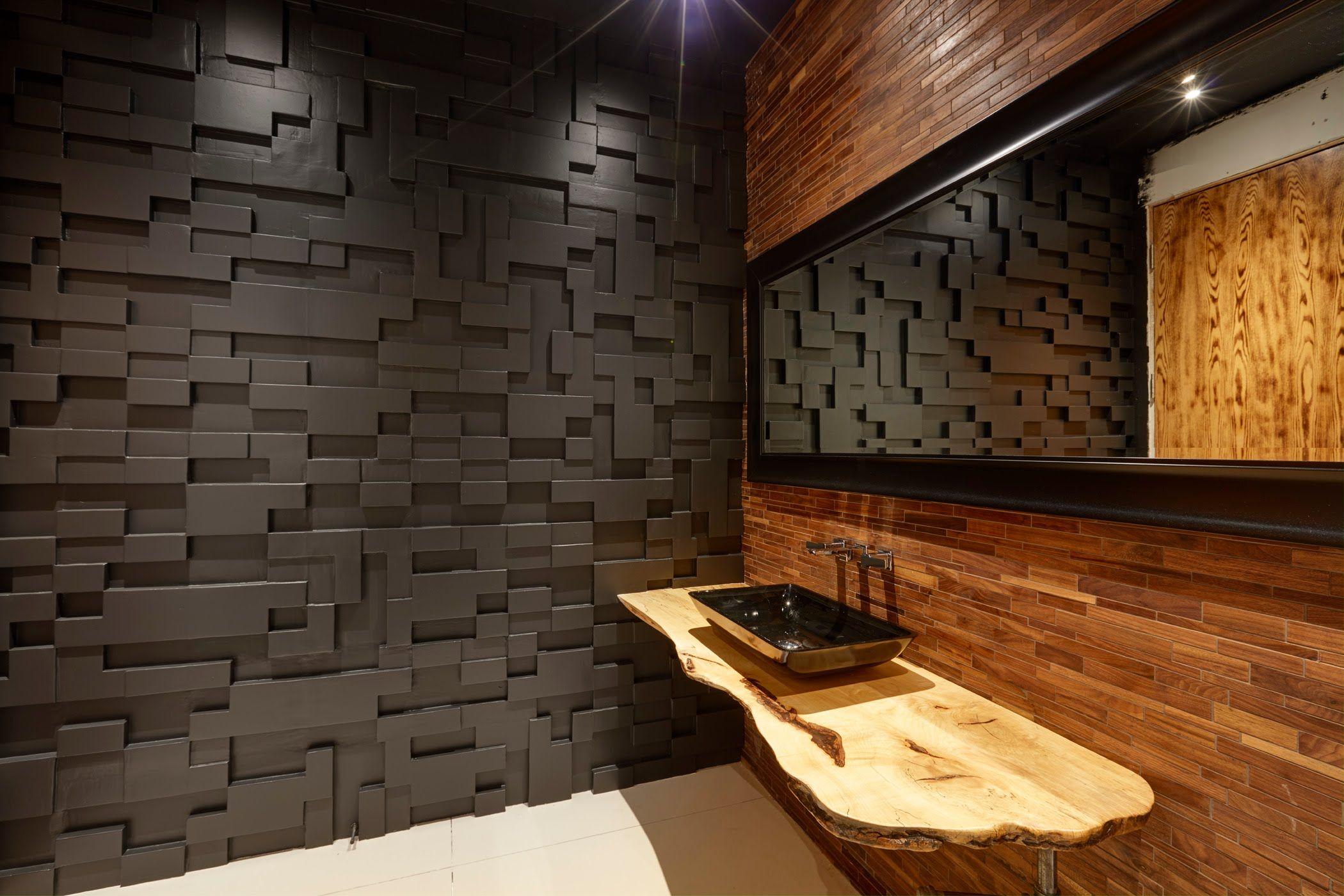 Installation of  decorative panels also idees per  la llar rh pinterest