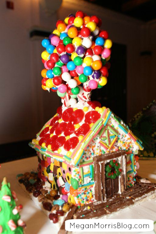 How To Make A Gingerbread House Inspired By The Movie UP! #disney
