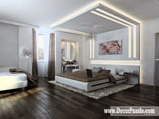 Plasterboard Ceiling Designs For Bedroom Pop Design 2016 With Lighting